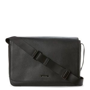 Michael Kors 'Stephen' Leather Messenger Bag